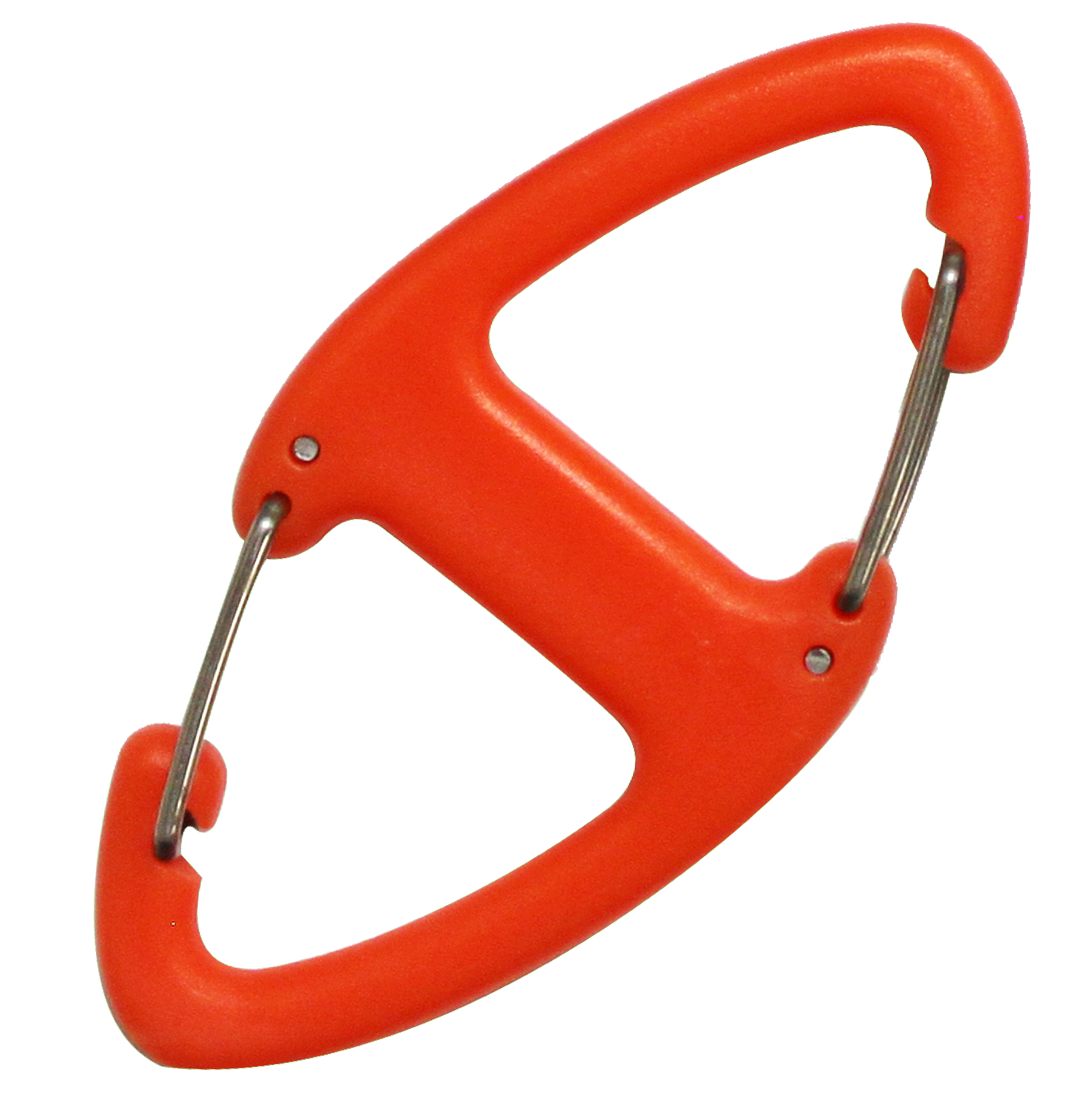 8cm plastic diamond carabiner bison designs for Designer carabiner