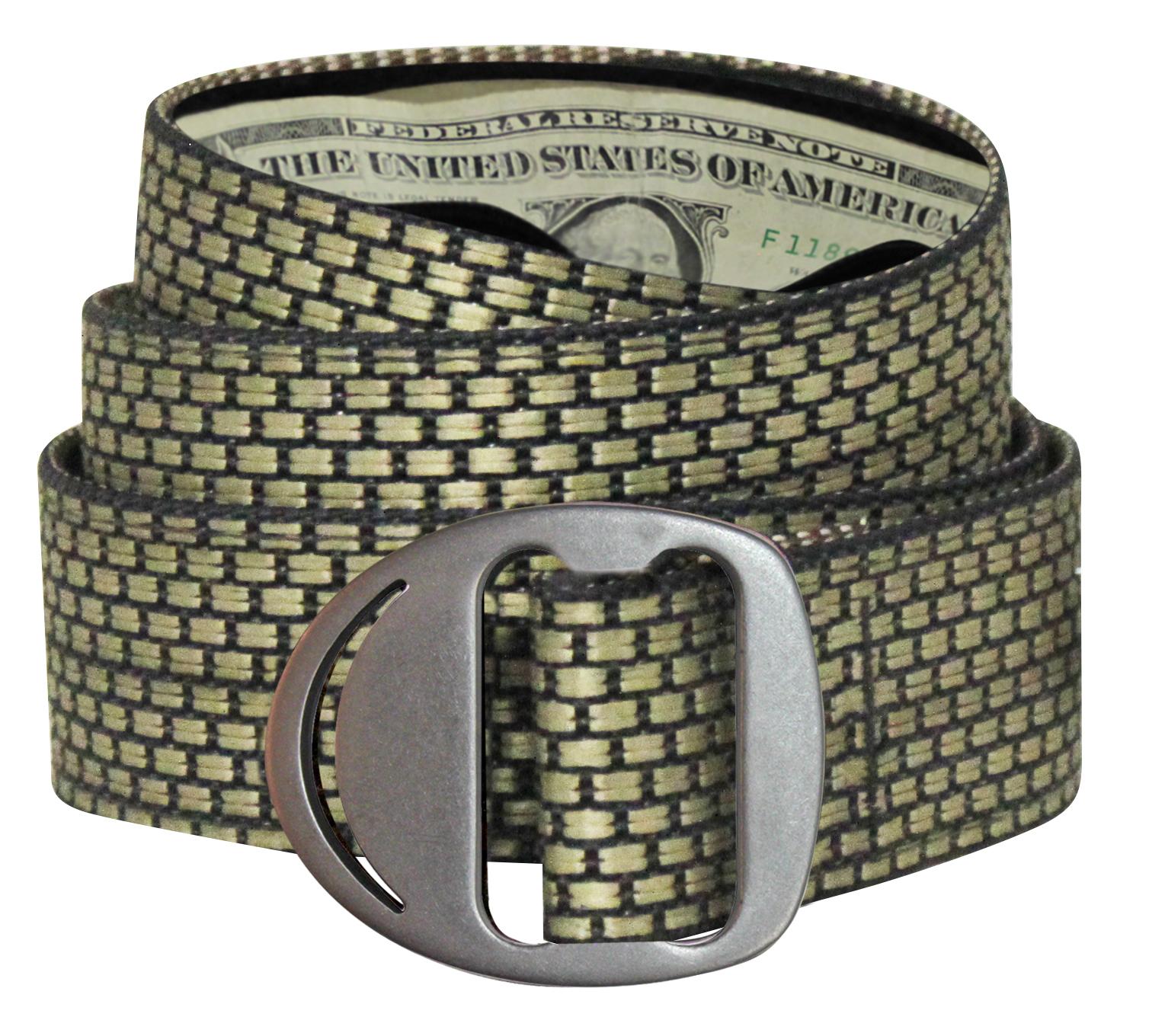 Bison Designs 38mm Chinchilla // Medium Crescent Gunmetal Buckle Belt