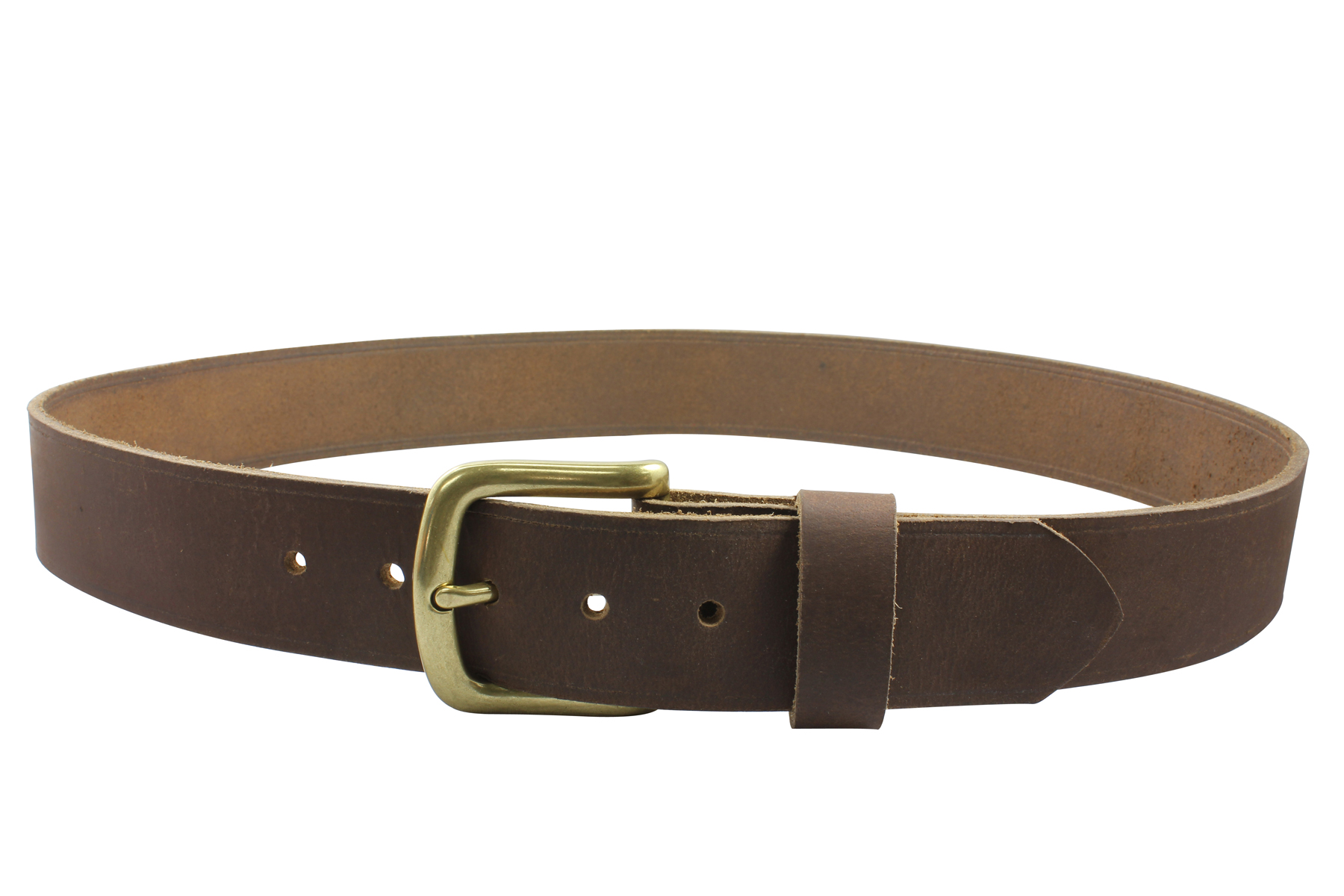 38mm - Rough Cut™ Leather Belt | Bison Designs