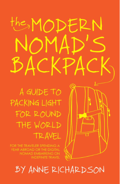 The Modern Nomad's Backpack is full of great packing tips